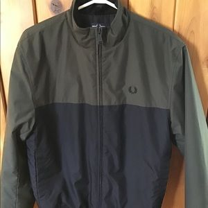 Fred Perry Brentham colourblock jacket size S